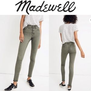 "Madewell 9"" Button-Front Edition Jeans"